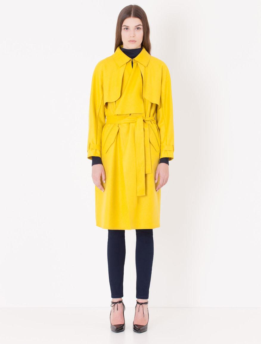 ナオミとカナコ吉田羊着用衣装黄色いコートとバッグはコレ